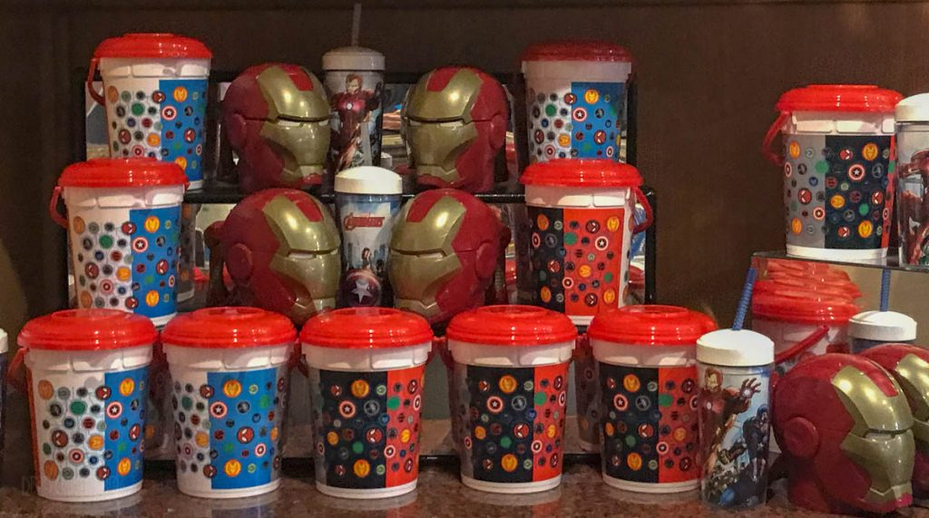 MDAS Popcorn Buckets And Souvinir Cups