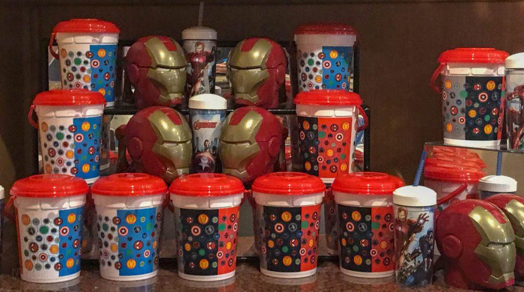 MDAS Popcorn Buckets And Souvinir Cups