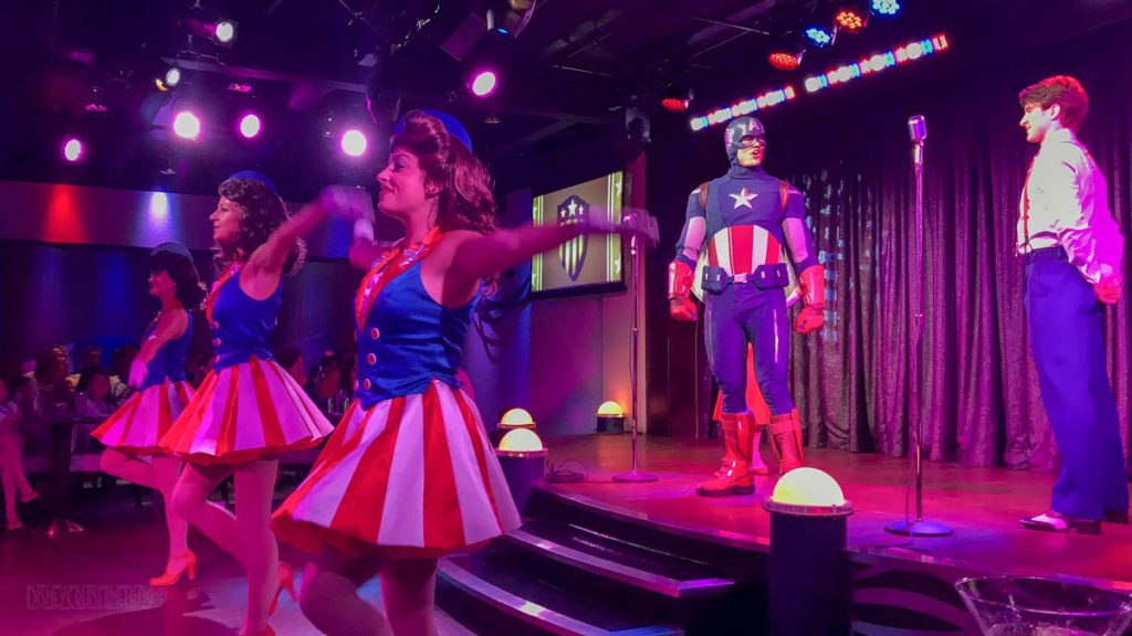 MDAS Star Spangled USO Show Captain America