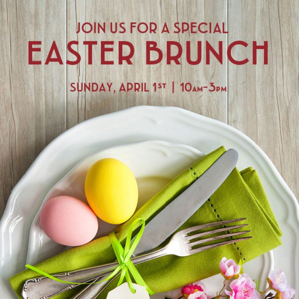 Maria Enzos Easter Brunch Special 2018