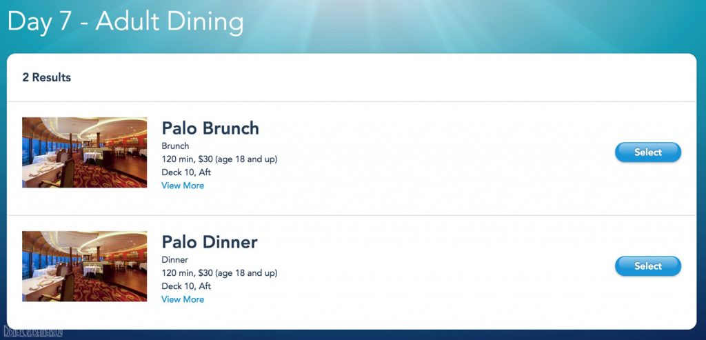 Palo Brunch Dinner Online Booking