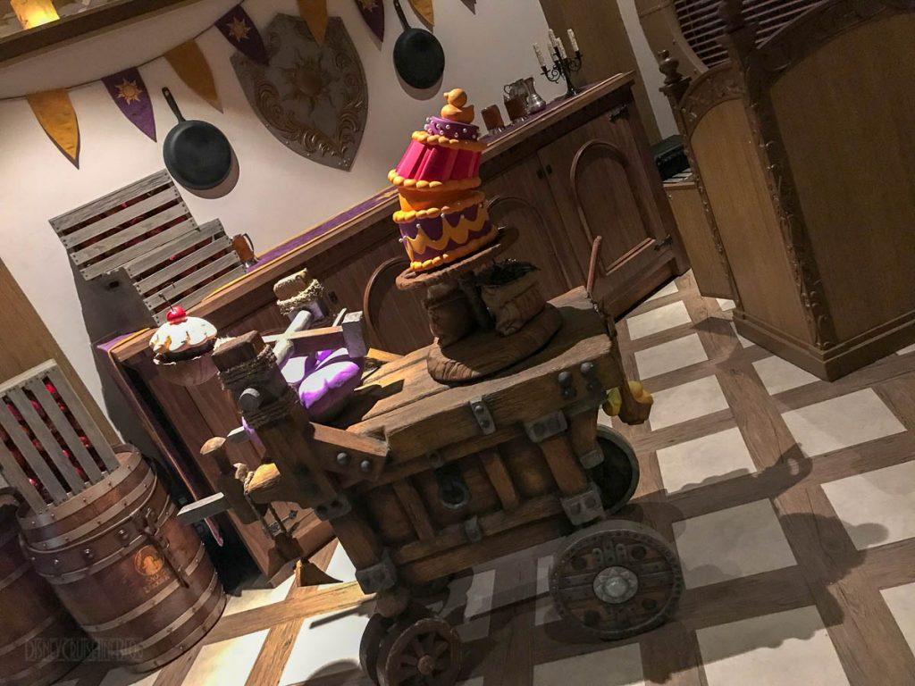 Rapunzel's Royal Table Attila's Cart