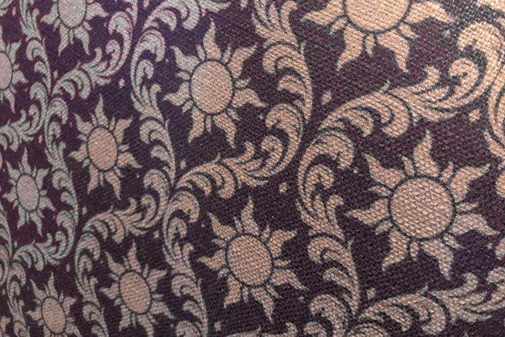 Rapunzel's Royal Table Chair Back Fabric Pattern