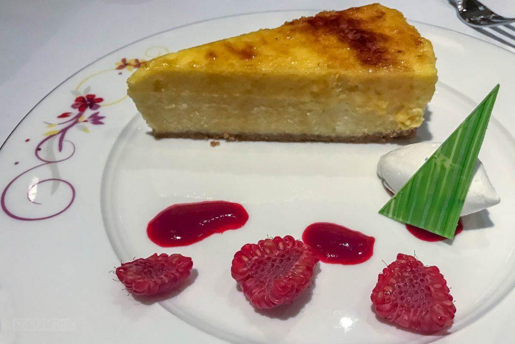 Rapunzel's Royal Table Creme Brulee Cheesecake