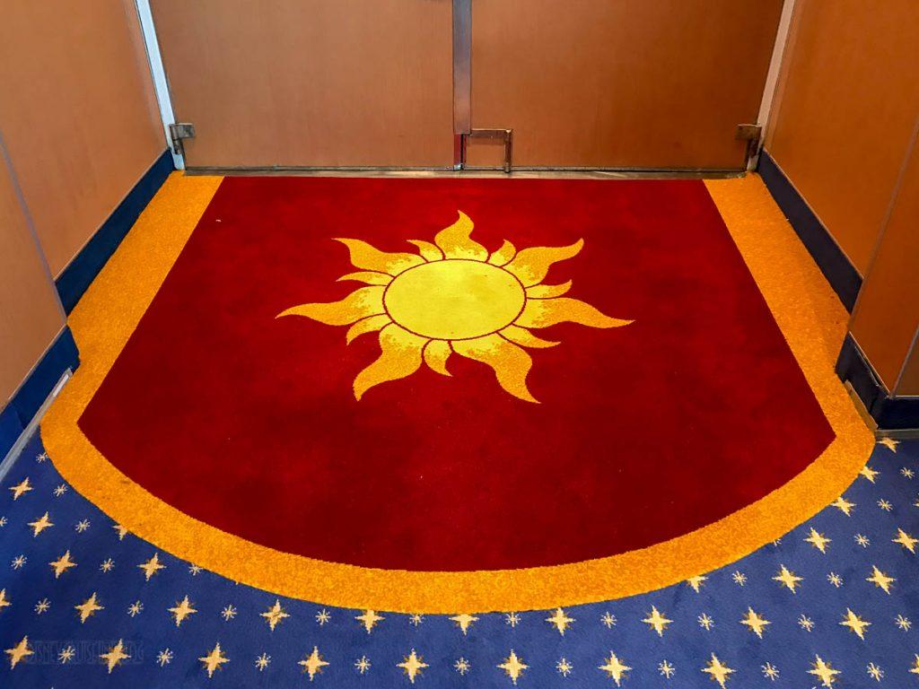 Rapunzel's Royal Table Entrance Carpet