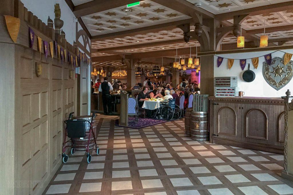 Rapunzel's Royal Table Foyer