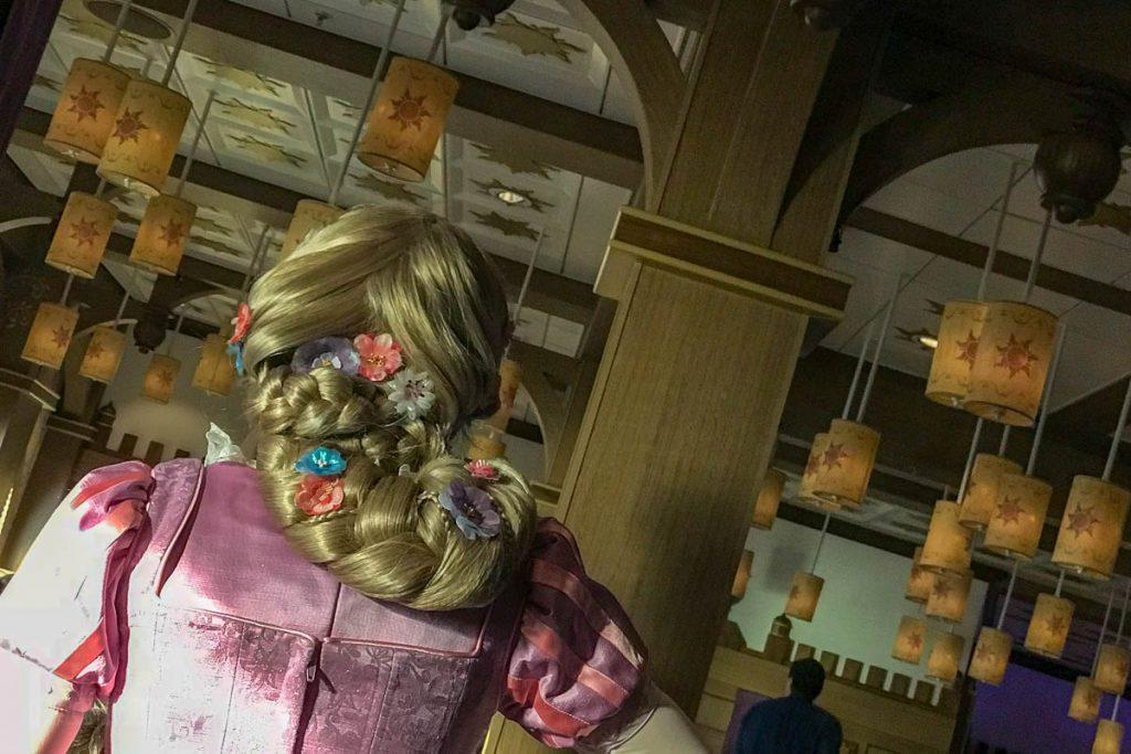 Rapunzel's Royal Table Hair Braid