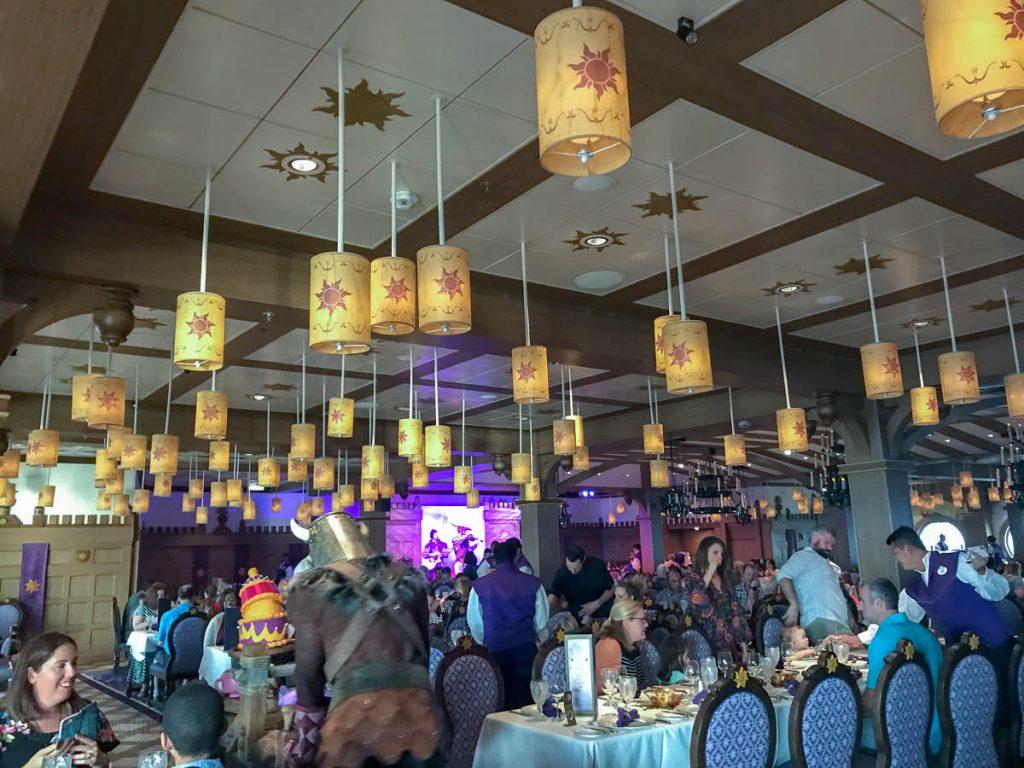 Rapunzel's Royal Table Lanterns