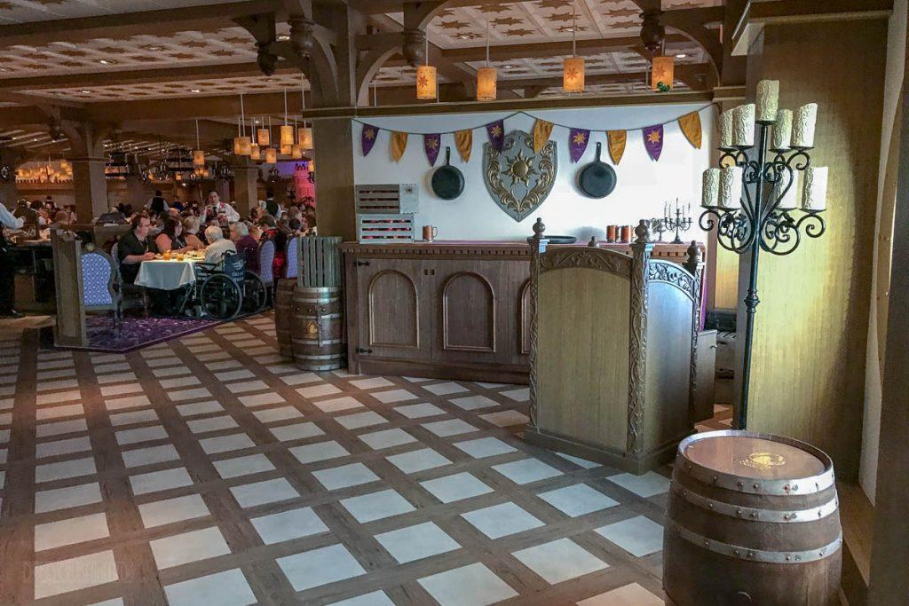 Rapunzel's Royal Table Maitre D Stand