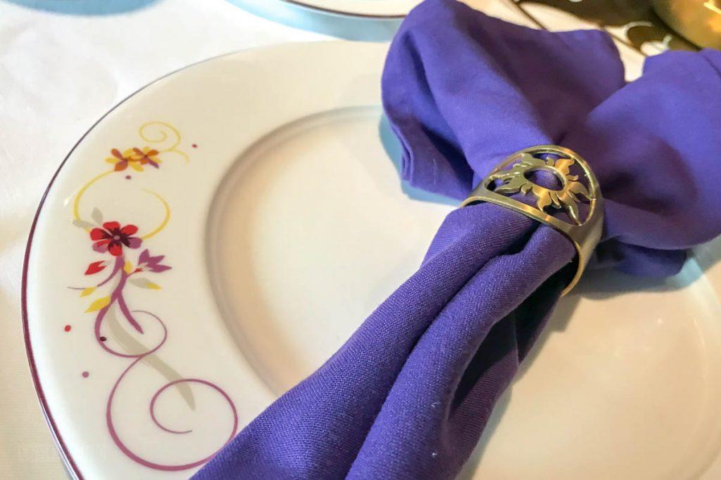 Rapunzel's Royal Table Napkin Holder