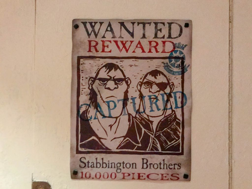 Rapunzel's Royal Table Stabbington Wanted Poster