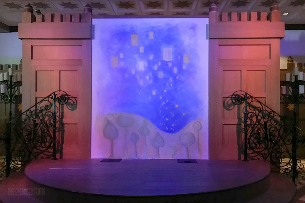 Rapunzel's Royal Table Stage