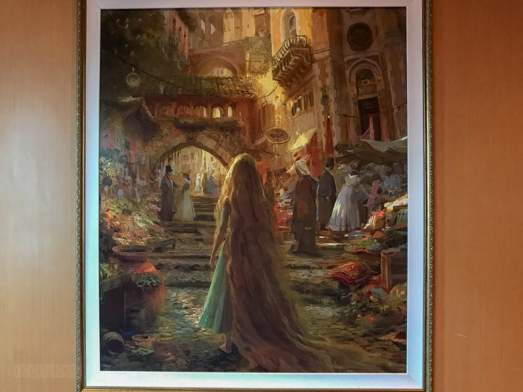 Rapunzel's Royal Table Tangled Concept Art