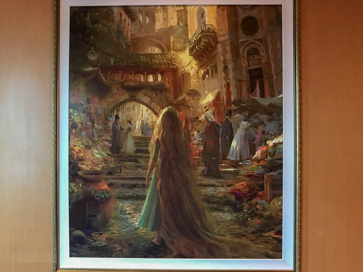 Nyts Arts Beat Blog Gets Tangled In >> Review Rapunzel S Royal Table Dinner Experience Aboard The Disney