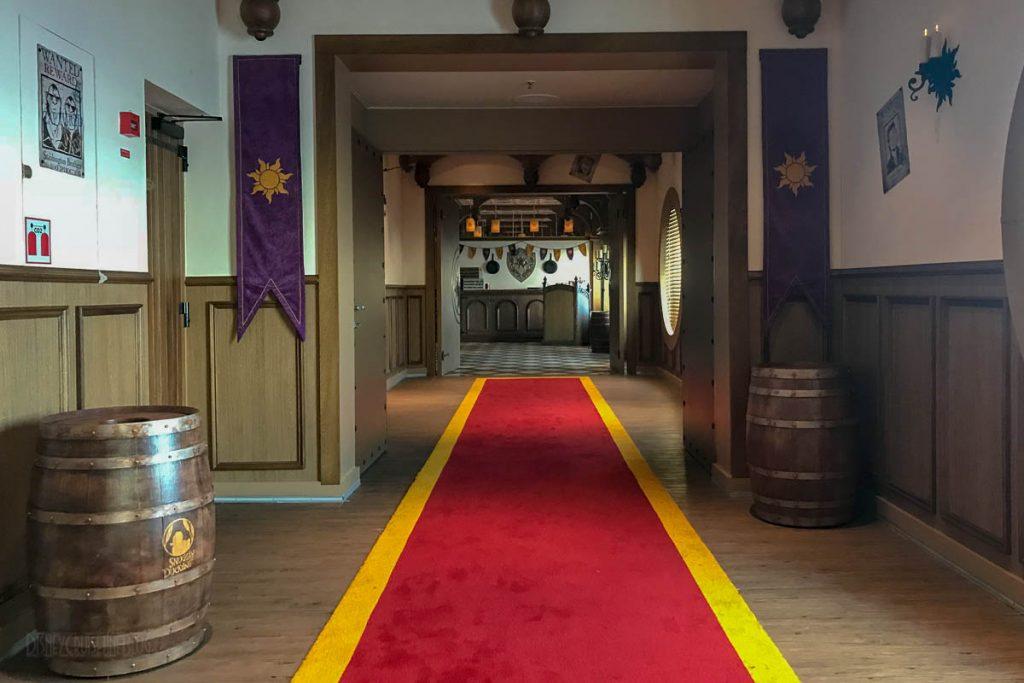 Rapunzel's Royal Table Walkway