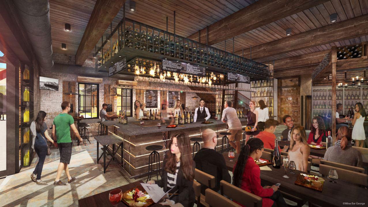 Disney Spring S Wine Bar George Reveals New Interior