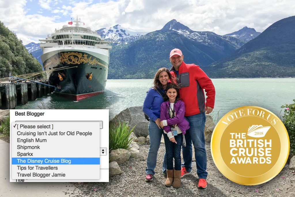 DCLBlog Cruise International Awards Best Cruise Blogger Nominees 2018