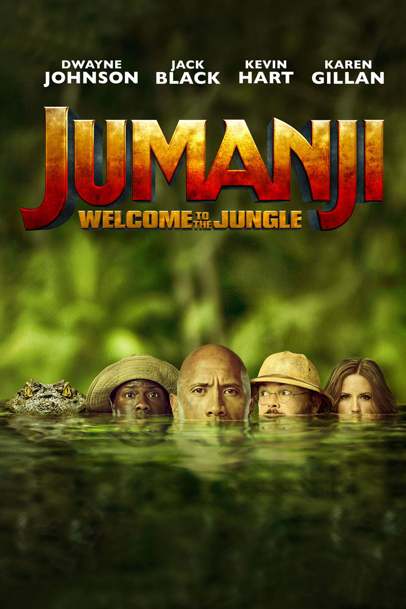 Jumanji Welcome To The Jungle Movie Poster