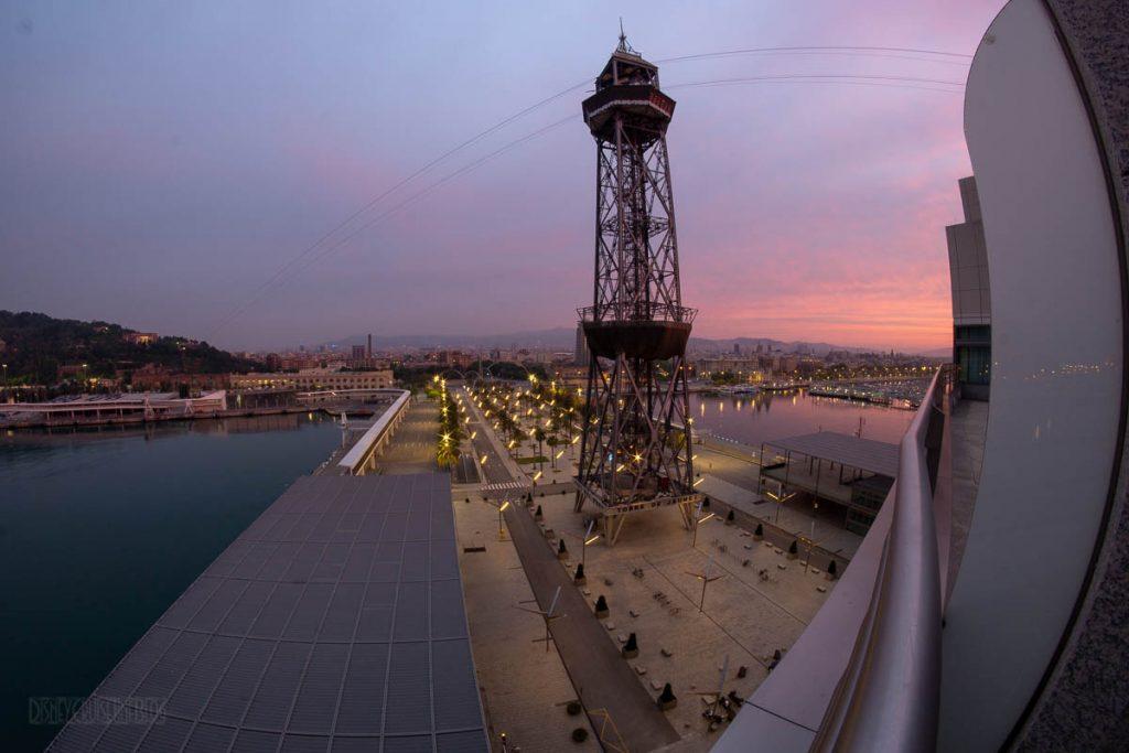 Barcelona Sunrise