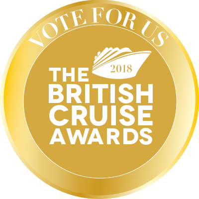 Vote for us in The British Cruise Awards 2018