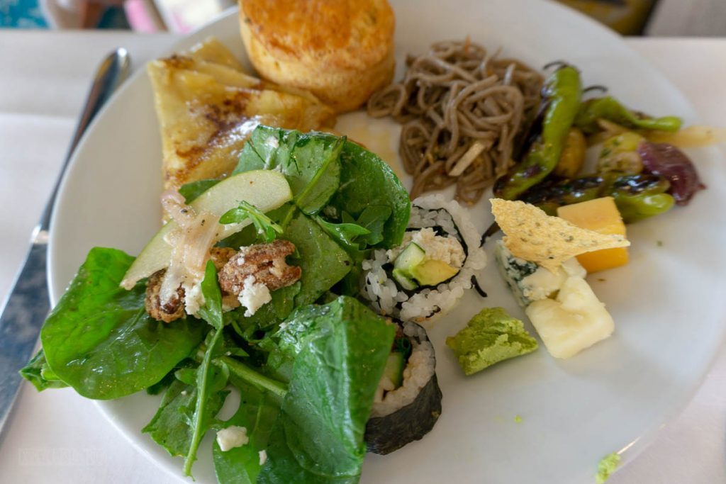 California Grill Brunch Buffet Selections
