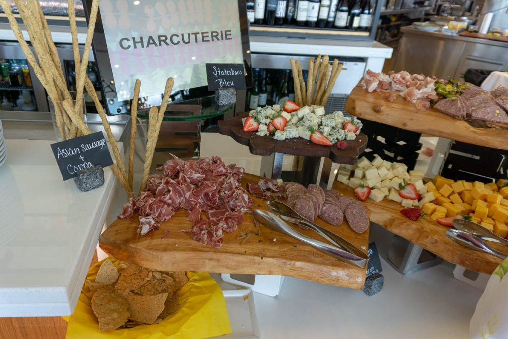 California Grill Brunch Charcuterie