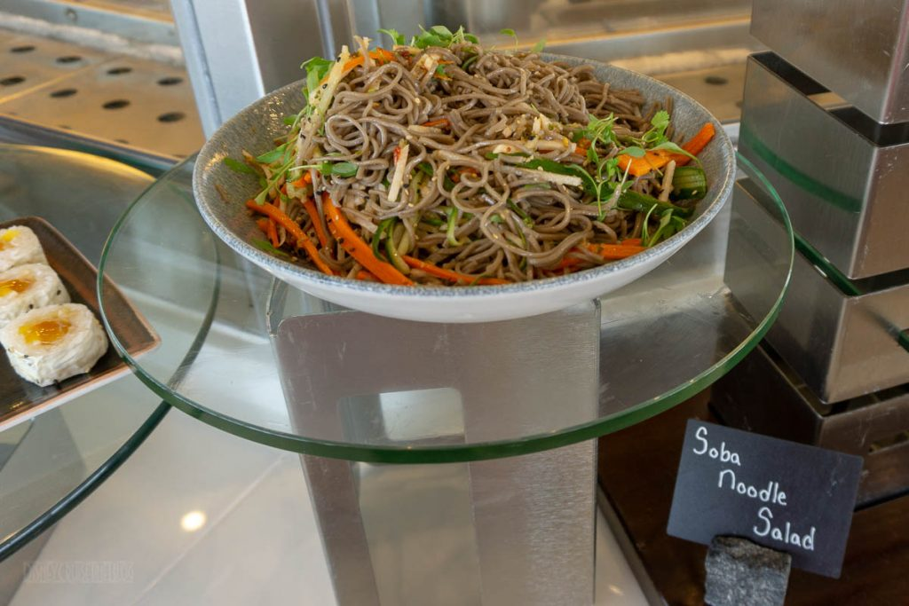 California Grill Brunch Soba Noodle Salad