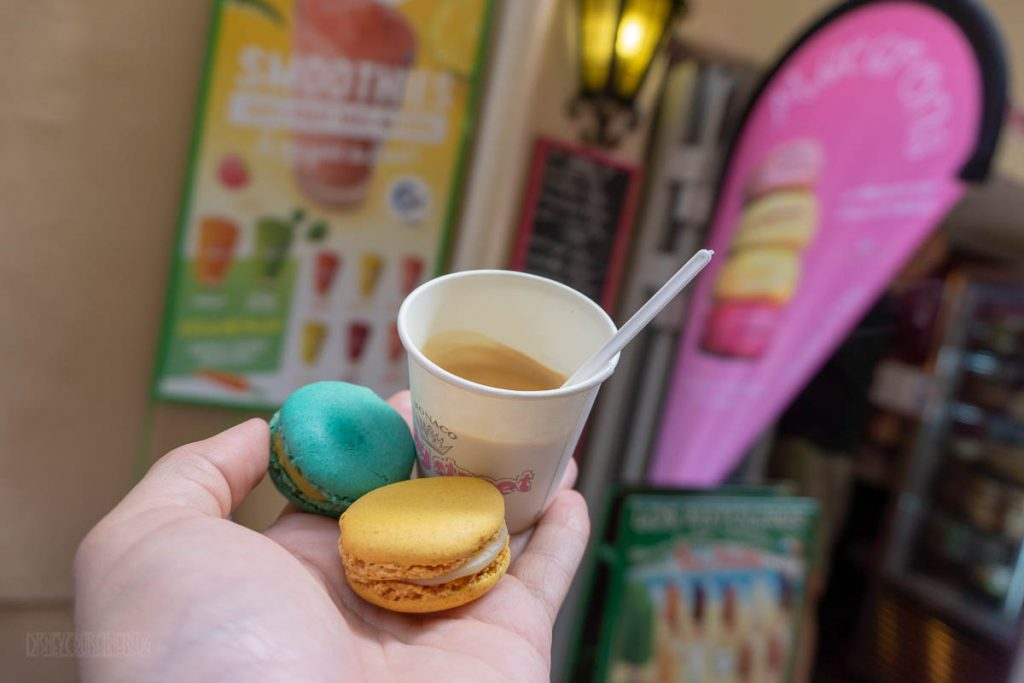 Candy Street Macarons Espresso Monaco