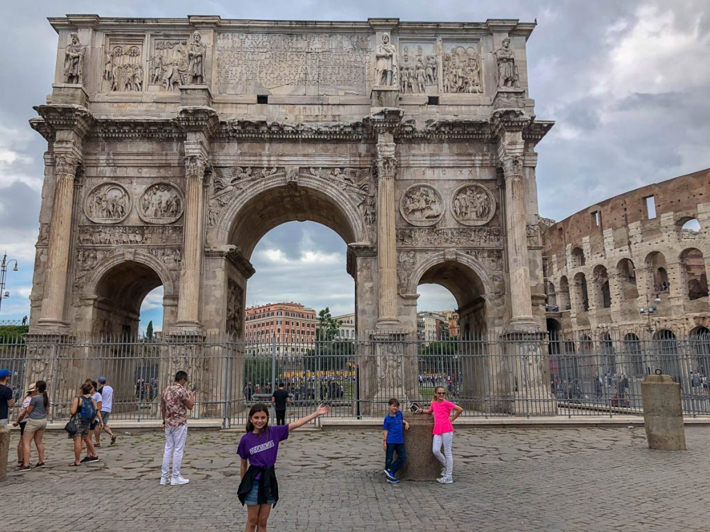 Coleseum Arch Rome 20180605