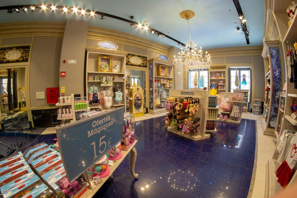Disney Store Barcelona Princess Room