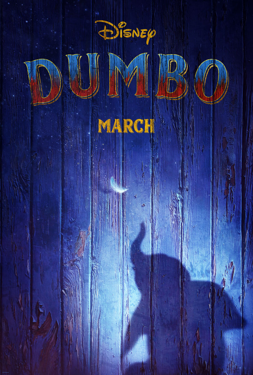 Dumbo 2019 Movie Teaser Poster