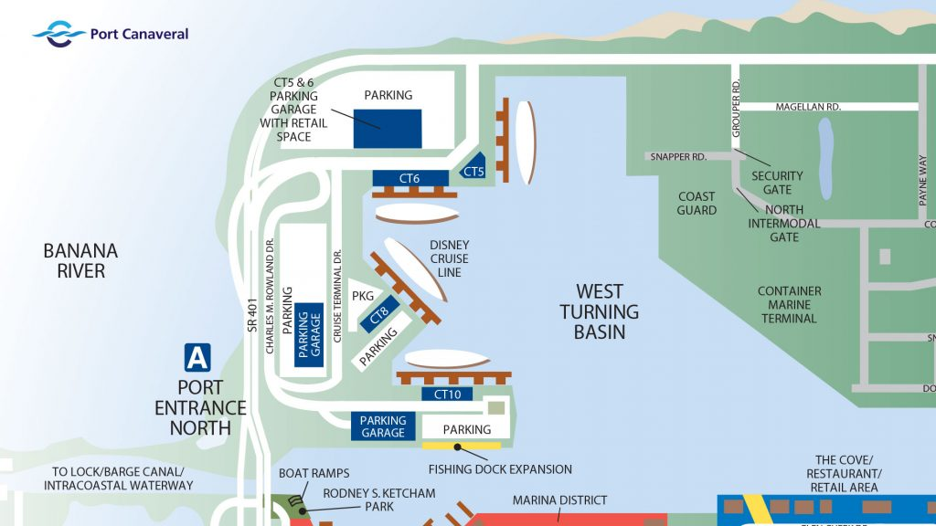 Port Canaveral North Cruise Terminals