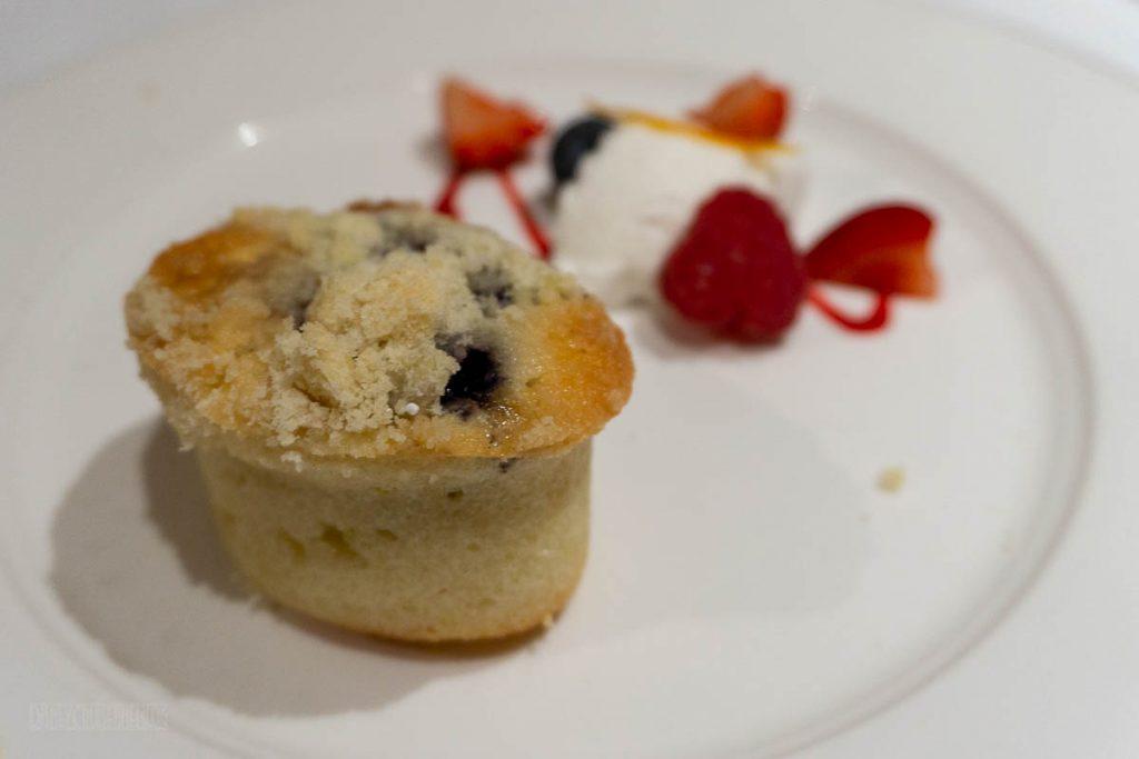 RRP Thug Menu Blueberry Streusel Cake