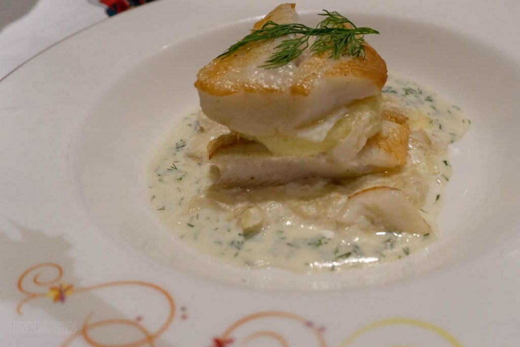 RRP Thug Menu Queen Arianna's Grilled Filet Of Turbot