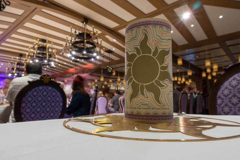 Rapunzel's Royal Table Lantern Night Kids Menu Lantern