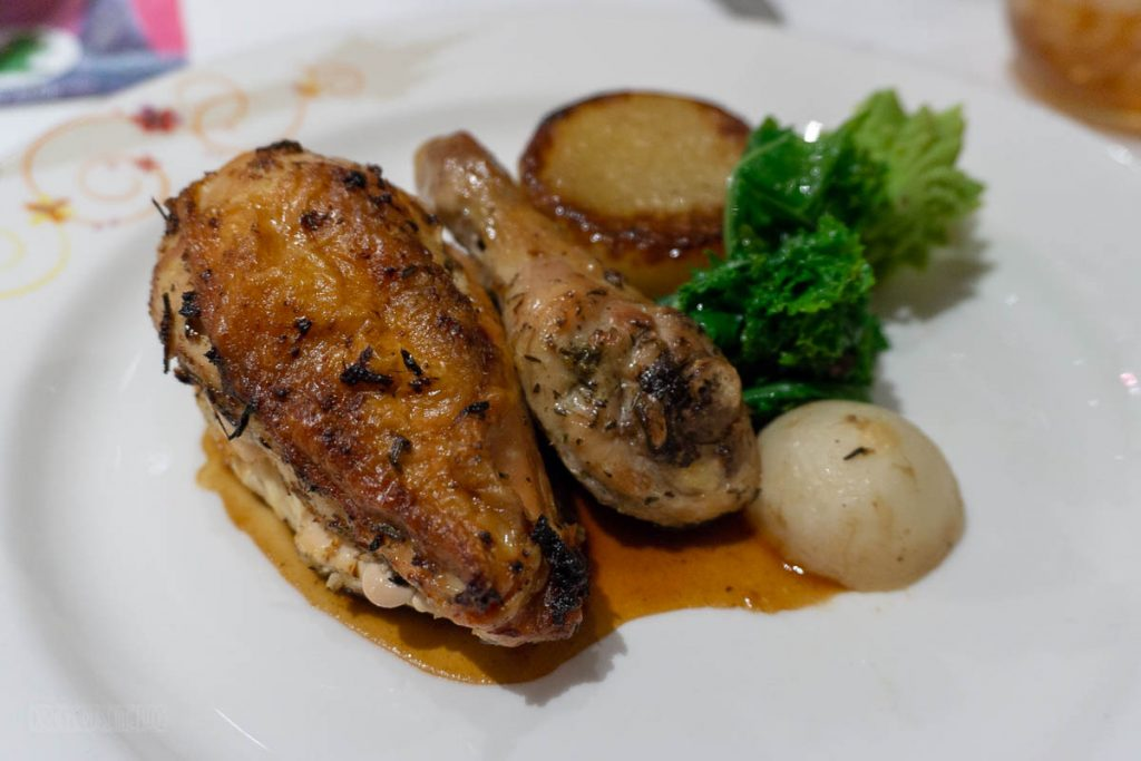 Rapunzel's Royal Table Lantern Night Oktoberfest Chicken