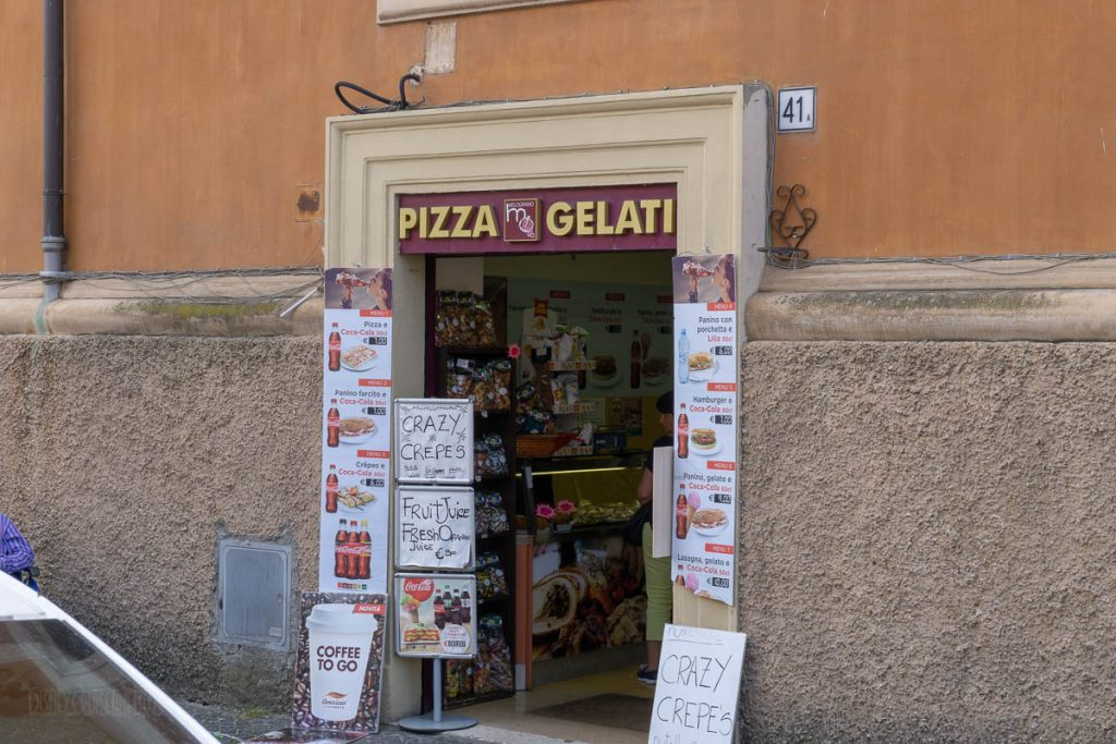 Vatican City Pizza Gelati