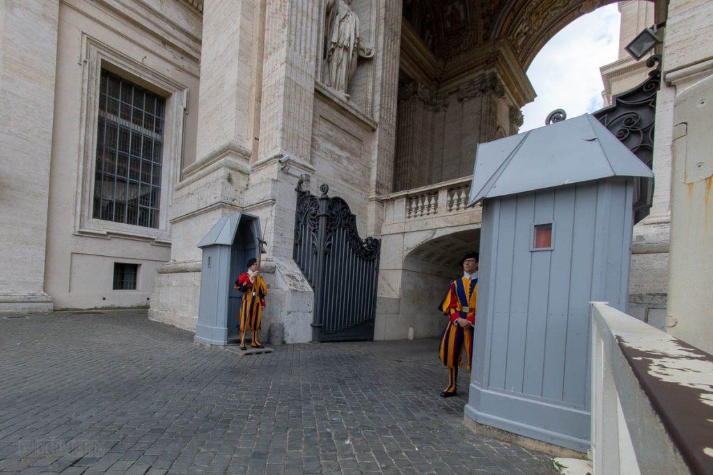 Vatican City St Peter's Basilica Guards
