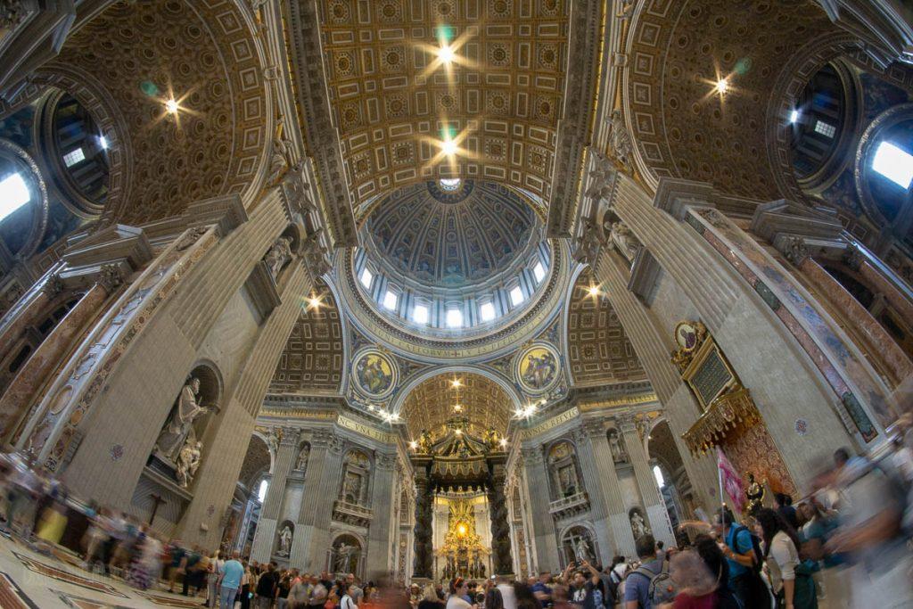 Vatican City St Peter's Basilica