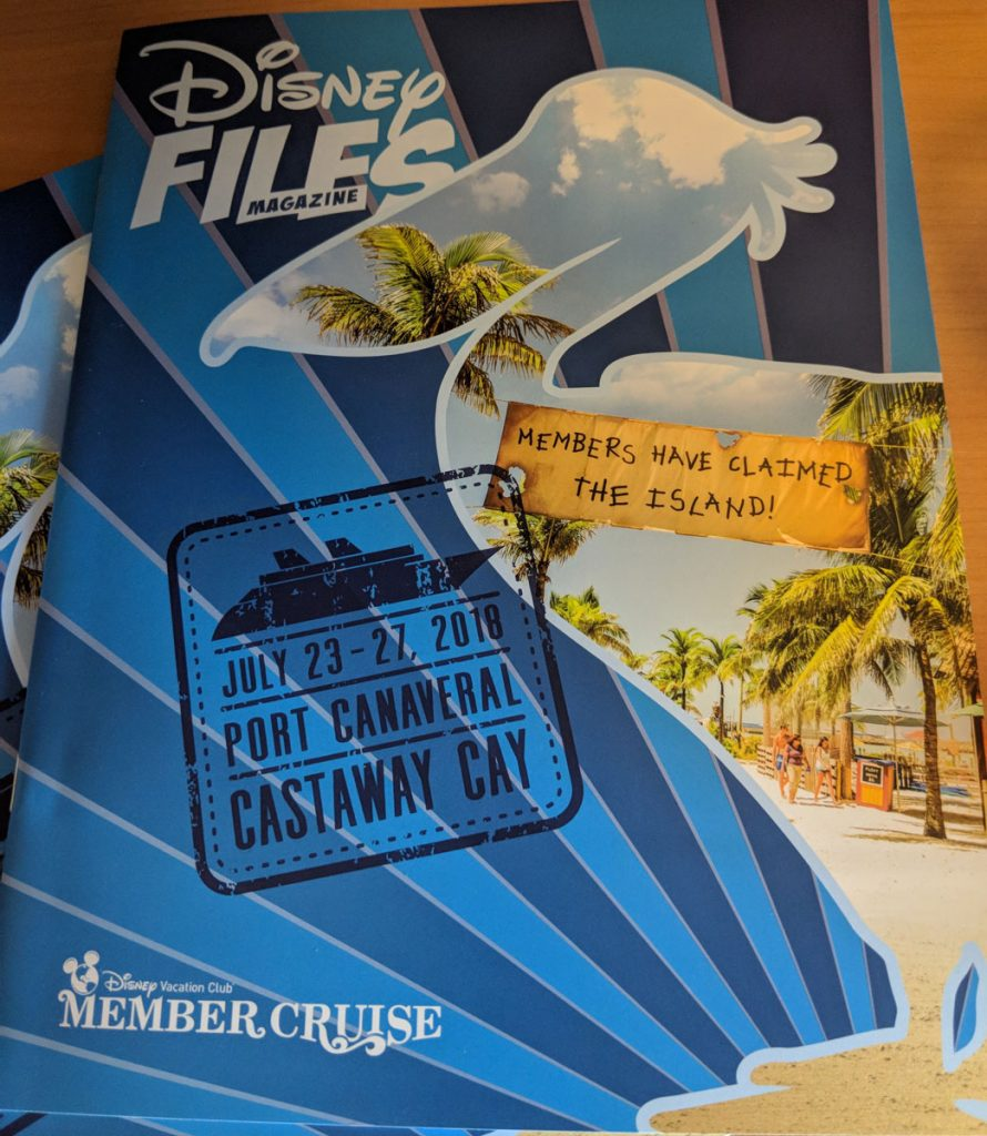 DVC Members Cruise Dream 2018 Disney Files