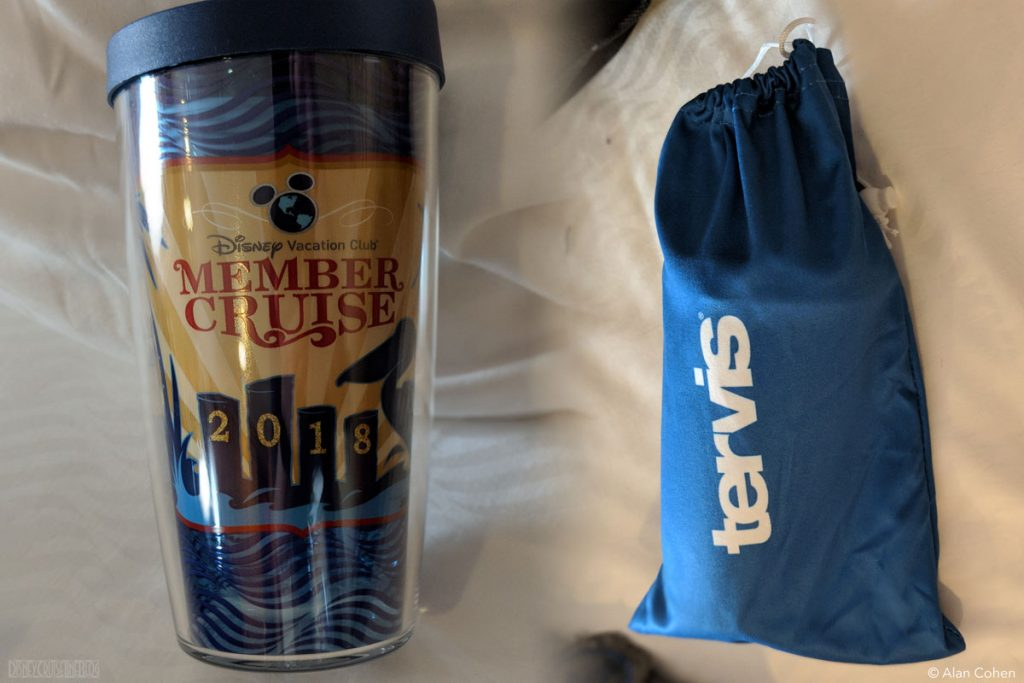 DVC Members Cruise Dream 2018 Merchandise Tervis