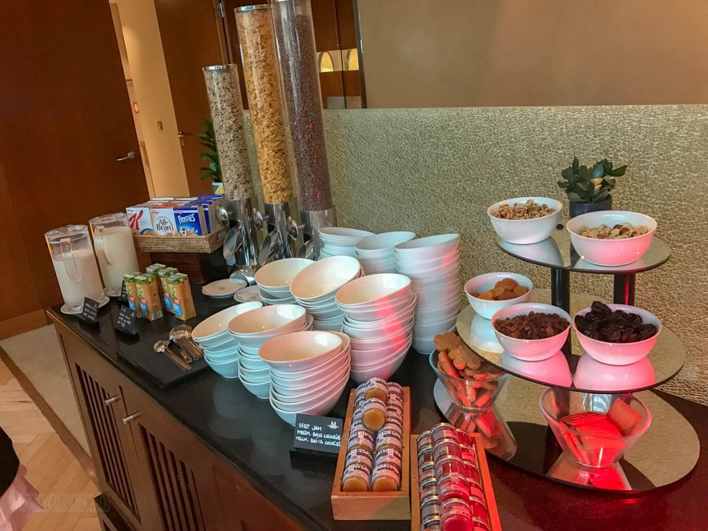 Eurostars Grand Marina Breakfast Buffet