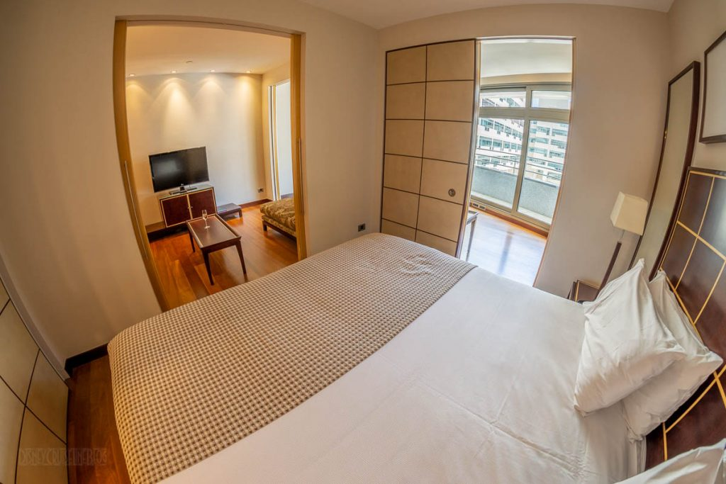 Eurostars Grand Marina Junior Suite Bedroom View