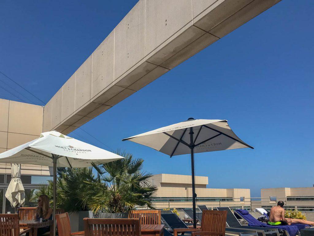 Eurostars Grand Marina Rooftop Sundeck