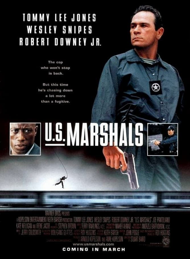 US Marshals Movie Poster