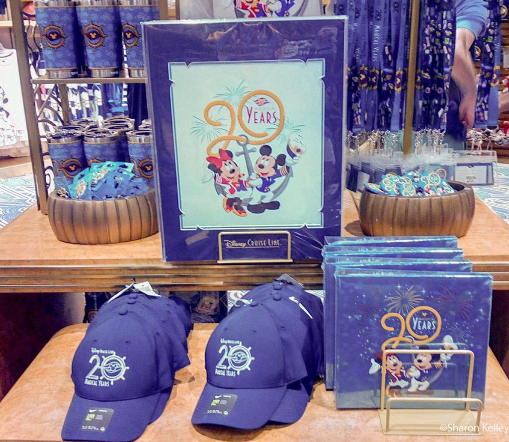 DCL 20 Magical Years Merchandise 1