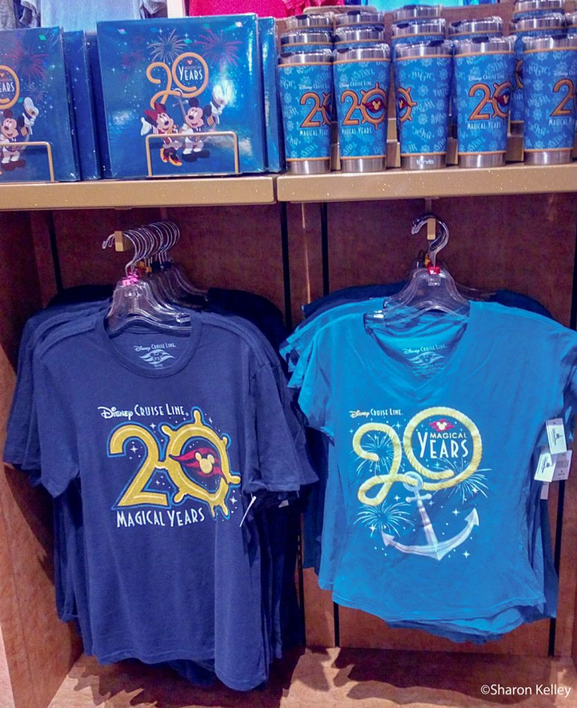 DCL 20 Magical Years Merchandise 2