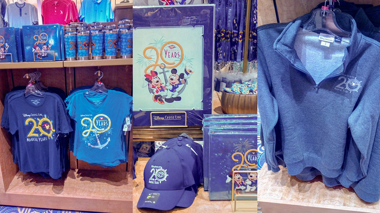 DCL 20 Magical Years Merchandise