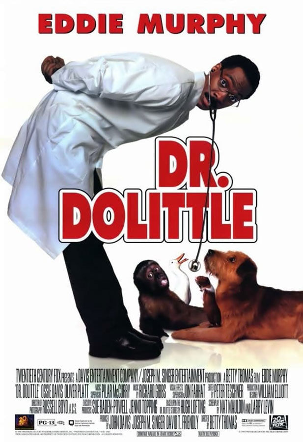 Dr Dolittle Movie Poster