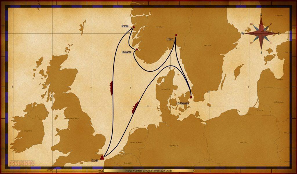 Map Magic 7 Night Northern European DVR SEA COP OSL SVG BGO SEA
